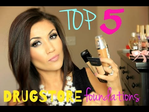 BEST 5 Drugstore Foundations For Oily/Combo Acne-Prone Skin
