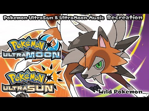 Pokémon UltraSun & UltraMoon - Wild Pokemon (Recreation)