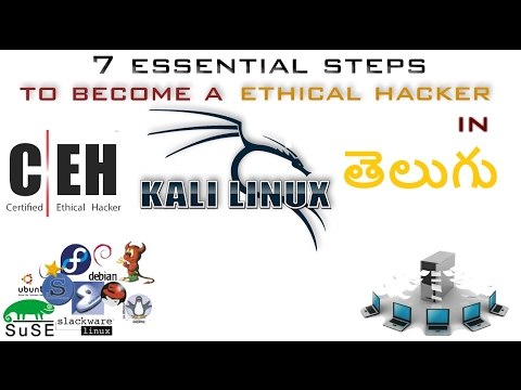 Ethical Hacking (IN TELUGU) - 7 Essential Steps For Beginners