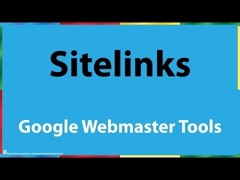 Google Search Console Sitelinks