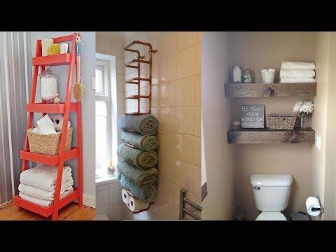 27 Creative Storage Idea For A Small Bathroom Organization
