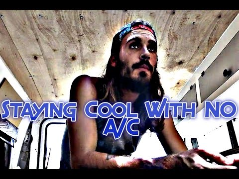 Van Life - How Were Keeping Cool Living In A Van In South Florida With NO A/C - Dealing With Heat