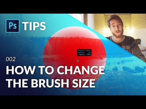 How to Change the Brush Size in Photoshop