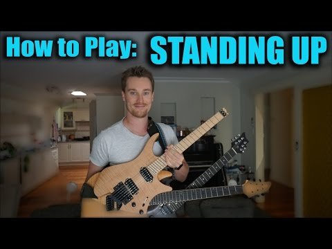 How to Play Guitar whilst STANDING UP!