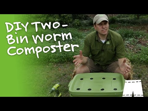 How to Build a Worm Composting Bin | GreenShortz DIY
