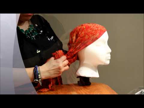 How To: Rosetta Head Wrap for Cancer Patients