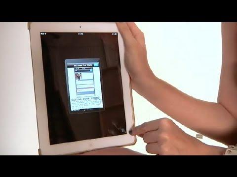 How to Enlarge Apps on the iPad : iPad Help