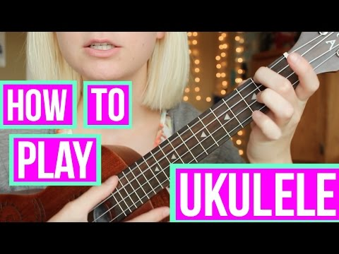 How to play UKULELE with 3 EASY chords!