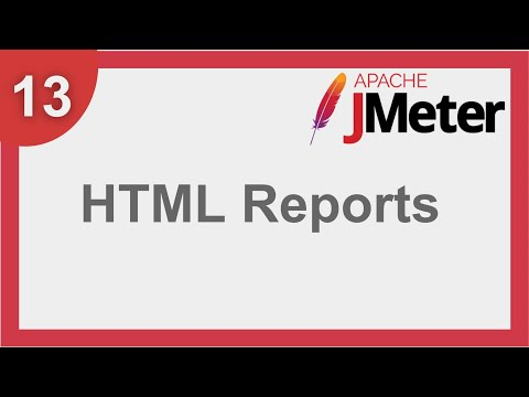 JMeter Beginner Tutorial 11 - How to create HTML Dashboard Reports from command line