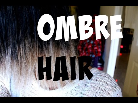 How To: Ombre Hair [Black to Blonde]