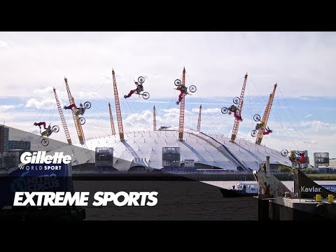 Behind Travis Pastrana's Barge to Barge Backflip | Gillette World Sport