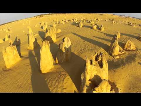 The Pinnacles Drone Veiw