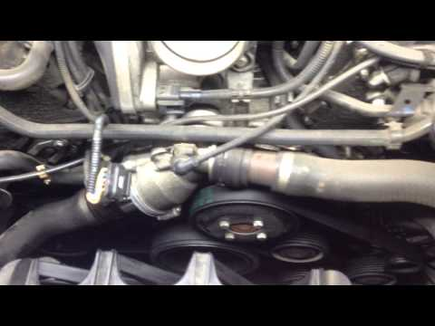 Symptoms Of A Bad Water Pump - Car Used Is A BMW E65 E66