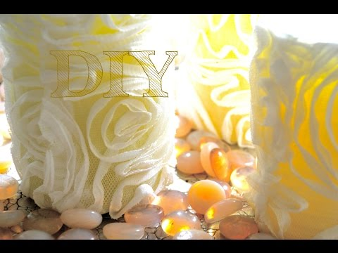 DIY How It's Made, Decorative Candles, OLd Candle Makeover