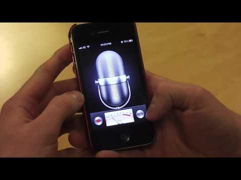 Voice Memos on iPhone