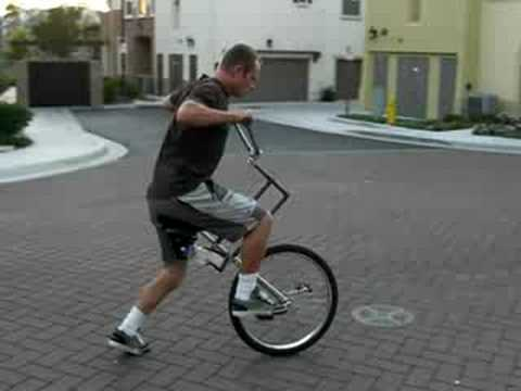 Unicycle Unibike how to build. unicycling.
