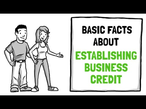 Basic facts about establishing business credit