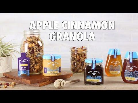 Apple Cinnamon Granola with Buzz + Bloom