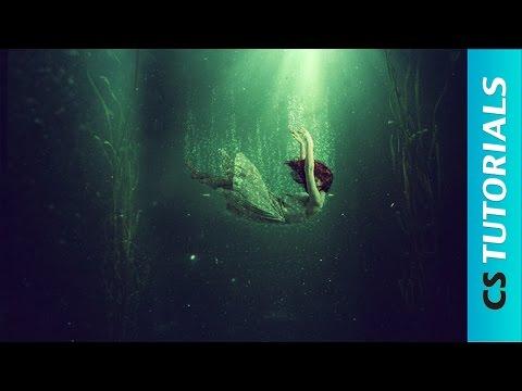 Underwater Scene - Photo Manipulation Tutorial (#Photoshop)   CreativeStation