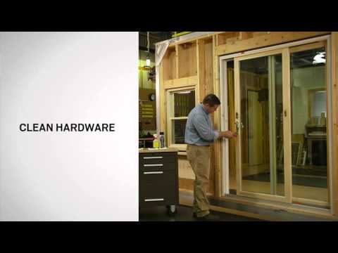 Care and Maintenance for Andersen® Patio Doors
