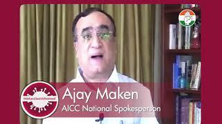 COVID-19: Ajay Maken's message to PM Modi
