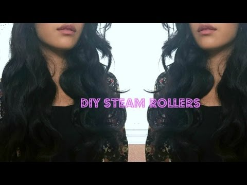 DIY Steam Rollers + Demo || ThatsSoYin