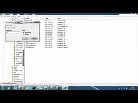 Improve system performance in Windows 7, Xp & Vista - Registry changes