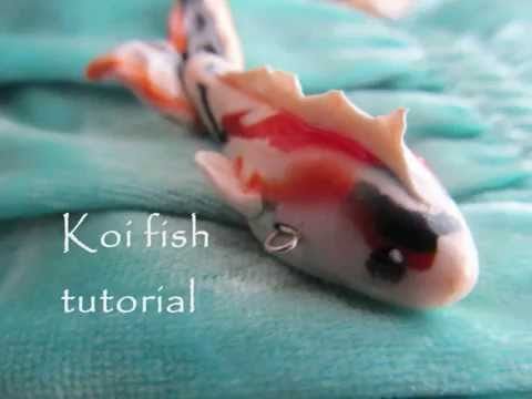 Koi fish tutorial (polymer clay)