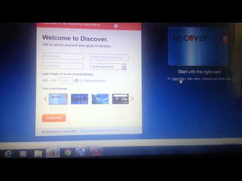 Discover It Student Credit Card App Send Email