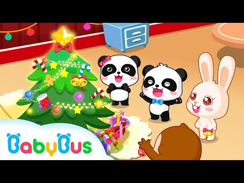 Merry Christmas |  Animation For Babies | BabyBus