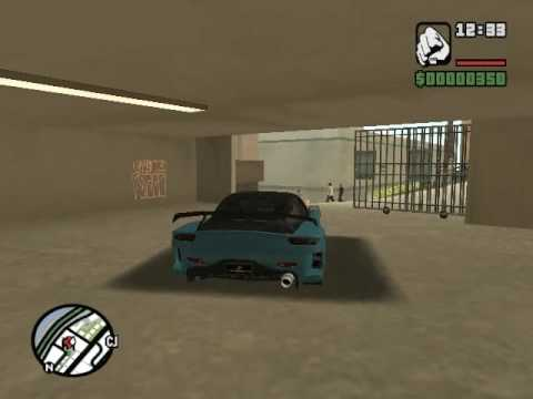GTA San Andreas: Los Santos 80 Car Garage/Collection Mod