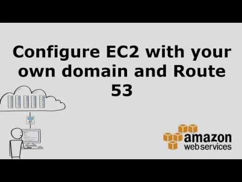Configure EC2 with your own domain and Route 53