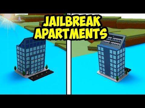 JAILBREAK APARTMENTS!   Build A Boat For Treasure ROBLOX