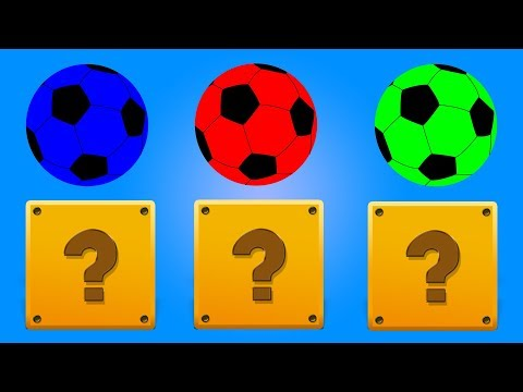 Soccer Balls Colors | Game play for Kids | Educational Video for Children