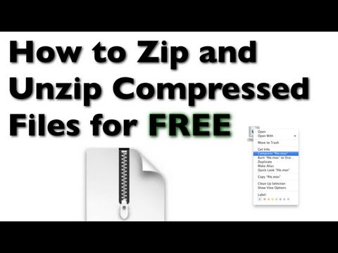How to Zip and Unzip Compressed Files on a Mac