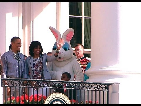 Opening the 2013 White House Easter Egg Roll