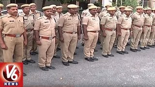 City Police Arrange Tight Security For Hyderabad Metro Rail Opening Ceremony | V6 News