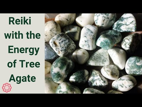 Reiki with the Energy of Tree Agate