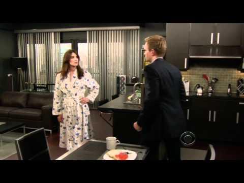 Barney avoiding an argument like a boss
