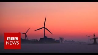 The Trains that run on Wind - BBC News