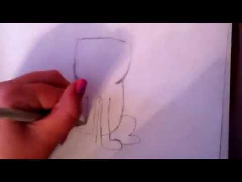 How To Draw Grumpy Cat Part 1