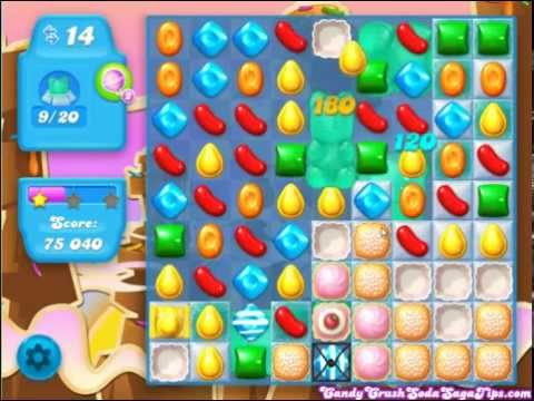 Candy Crush Soda Saga Level 70 Walktrhough (Commentary)