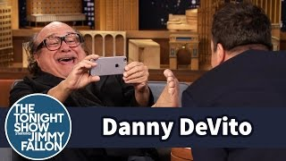 Danny Devito Brings Trollfoot To The Tonight Show