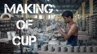 Khurja Crockery | Making Of CUP |  KHURJA Ceramics Work |