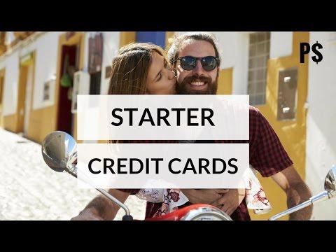 Best Starter Credit Cards - Professor Savings