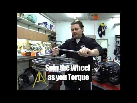 How to check tapered Timken wheel bearing end play on a Harley. Similar to trailers and auto wheels