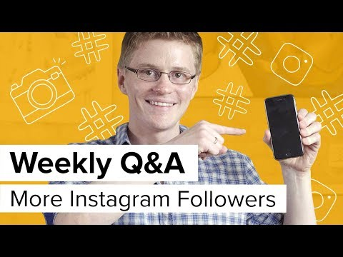 How to Get Instagram Followers: 10 Tips to Grow Your Reach [Oberlo Weekly Q&A]
