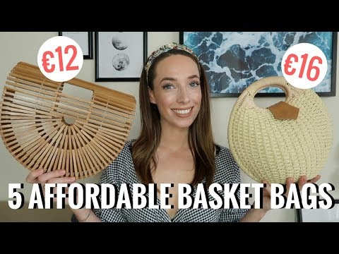 5 AFFORDABLE BASKET BAGS 👜  TRENDS FOR LESS 🛍️ 🛒  CIARA O DOHERTY