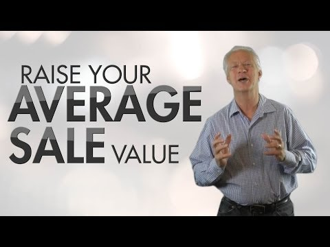 How to raise your average sale value - Colin Bockman