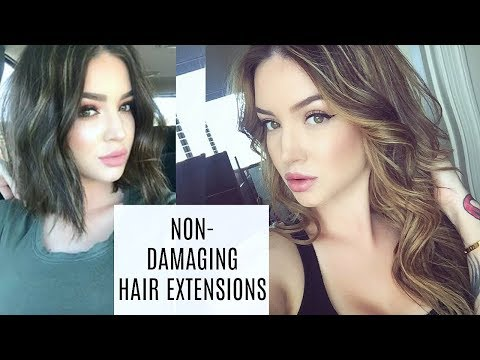 BEST hair extensions for fine/thin hair ❤ TAPE INS (semi permanent)